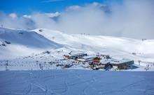 Ski Slopes Of Pradollano In Si...