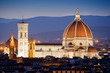 Florence Dome by night, Italy
