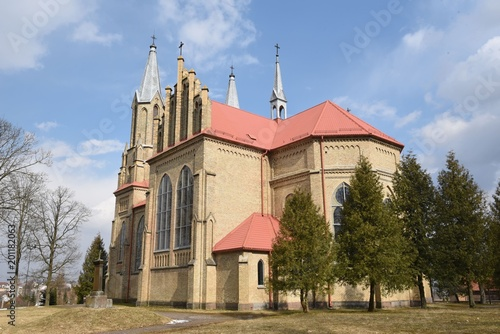 Cuadros en Lienzo kościół katolicki Krynki