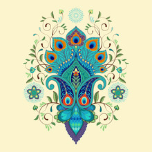 Vector Illustration. Beautiful...
