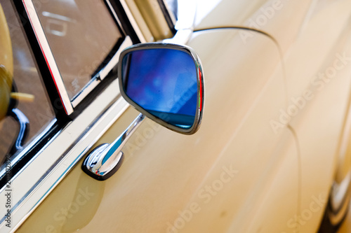 Vintage Car Side View Mirrors