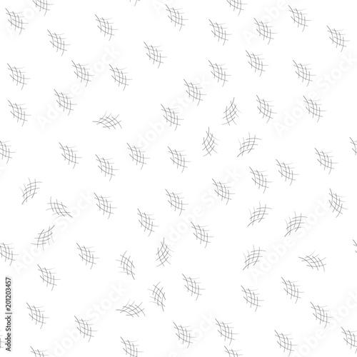 Fotografie, Obraz  Crosshatch seamless pattern