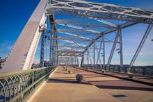 Walking Bridge In Nashville Tennessee