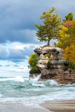 Chapel Rock And Lake Superior ...