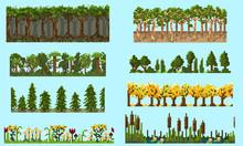 A Set Of Pixel Seamless Elemen...