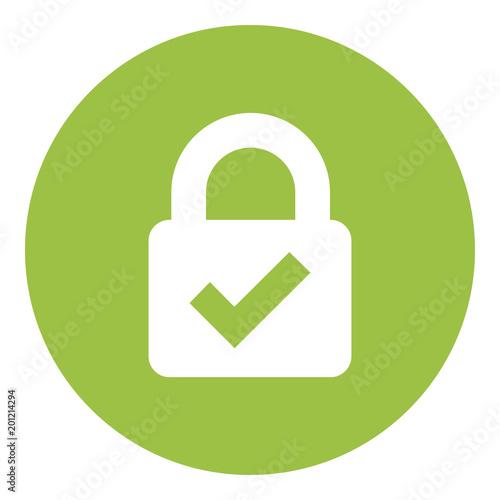 Fotografía  Web Security Lock Icon
