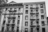 New York City, New York, USA, Jan 2018, facade of old Manhattan buildings - 201228867