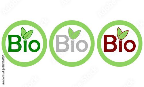 Fototapeta Logo bio eco obraz