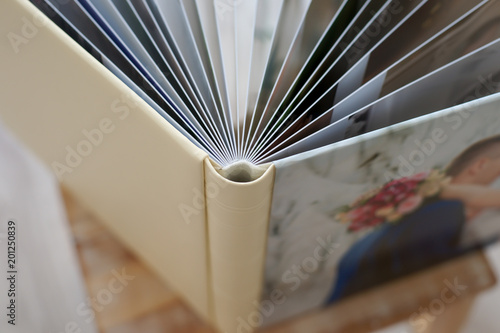 photo book of premium class large size, high-quality
