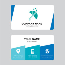 Protection Business Card Design Template