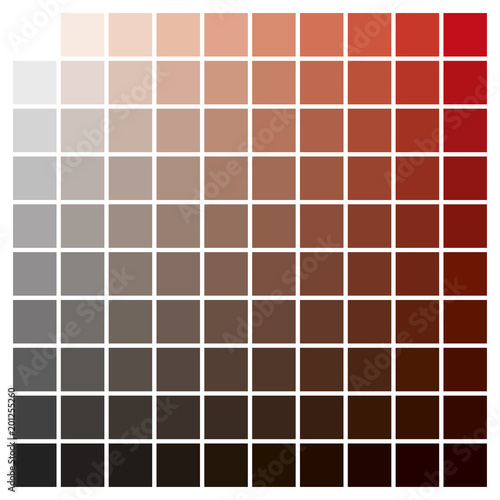 Color Chart Red Black Print Production Color Guide Ink Catalog Buy
