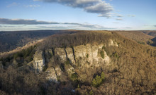 Aerial View Of Hohenstein Clif...