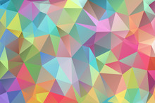 Abstract Multicolored Polygon,...