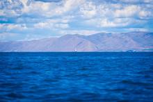Far Off Sailboat