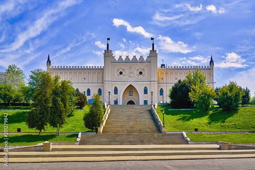 Obraz Brama Głównego Wejścia do Zamku Lubelskiego - fototapety do salonu