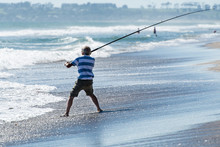 Surfcasting In The Sunshine