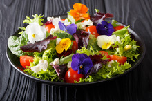 Beautiful Healthy Salad With E...