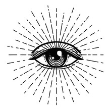Tattoo Flash. Eye Of Providenc...