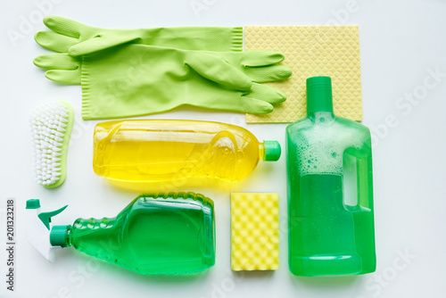 Tuinposter Fietsen Cleaning products