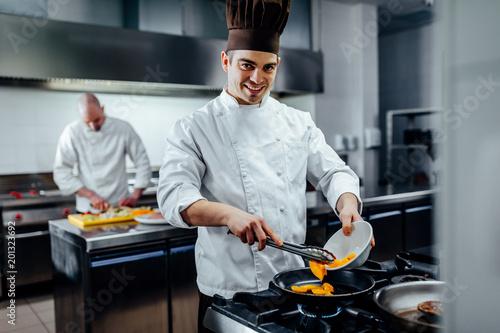 Fotografia Preparing the finest cuisine