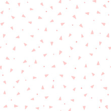 Repeating Pink Triangles And R...