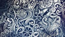 Doodles Nautical Illustration....