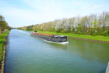 Barge On The Mittellandkanal I...