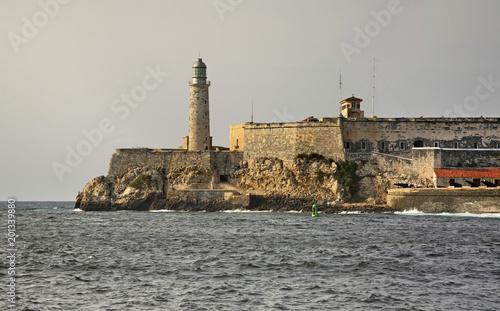Tuinposter Havana Morro fortress in Havana. Cuba