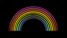 Colorful Rainbow Illustration ...