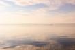sky reflection on the lake bolsena