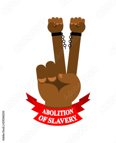 Abolition of slavery Canvas Print