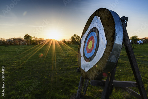 Photo Target for archery