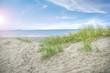 Spuren im Sand - Urlaub am Strand