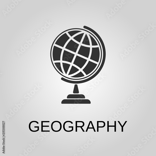 Plakat Geography icon