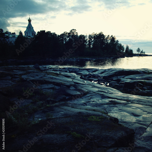 Valokuva  Ladoga lake