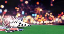 Poker Flush Royal Background W...