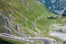 Serpentine Mountain Road In It...