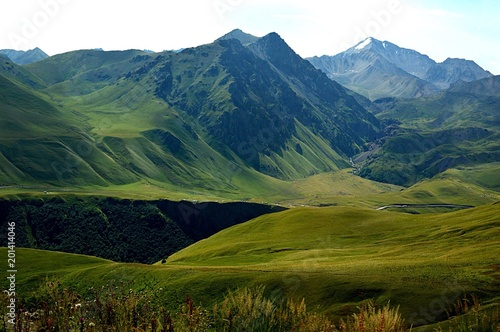 Tablou Canvas Джилы-су ,путешествие в горы