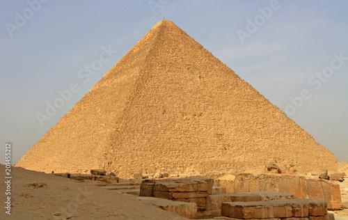 Stampa su Tela Cheops pyramid in Giza