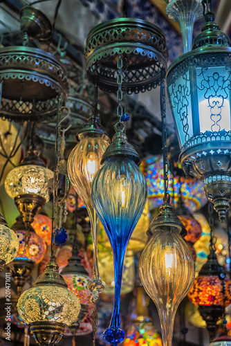lamps for sale on Grand Bazaar Poster