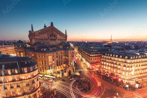 Obraz Opera Garnier, Paryż, Francja - fototapety do salonu