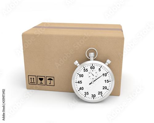 Valokuva Chrono chronomètre livraison colis paquet express