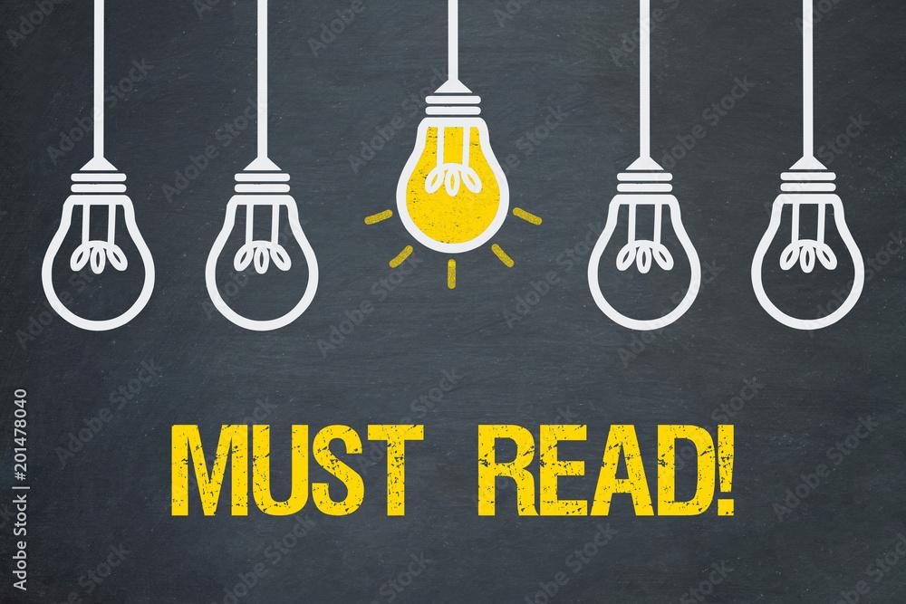 Fototapety, obrazy: Must Read!