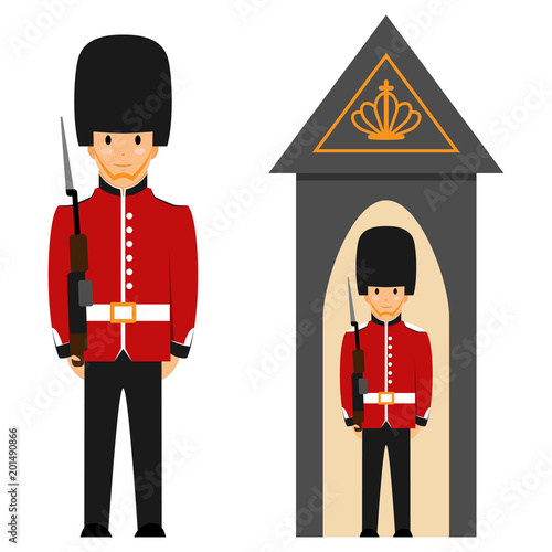 Photo  London Queen's guard