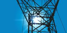 Pylône électrique - électricité - Haute Tension - Ligne électrique - Câble - Réseau électrique