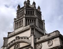 Turm Auf Dem Gebäude Des Victoria Und Albert Museums