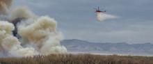 Saddler Island Brush Fire In Fruita Colorado