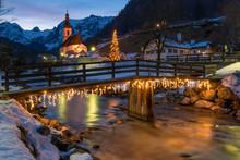Winter Weihnachten In Ramsau I...