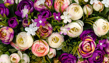 A Bouquet Of Artificial Flowers