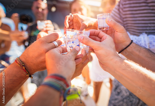 Fotomural  Outdoors party